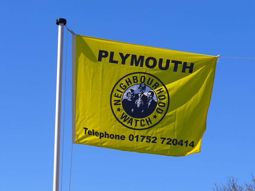 Banners And Flags Seymour Signs Plymouth Signwriters
